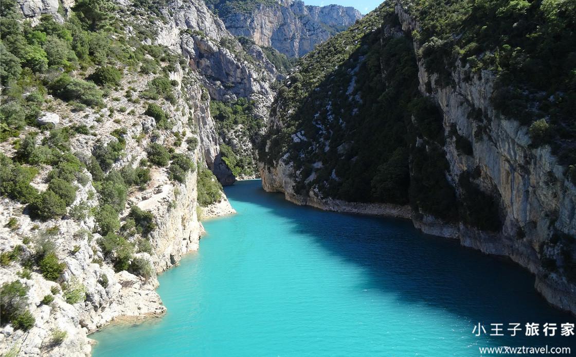 法国普罗旺斯韦尔东峡谷