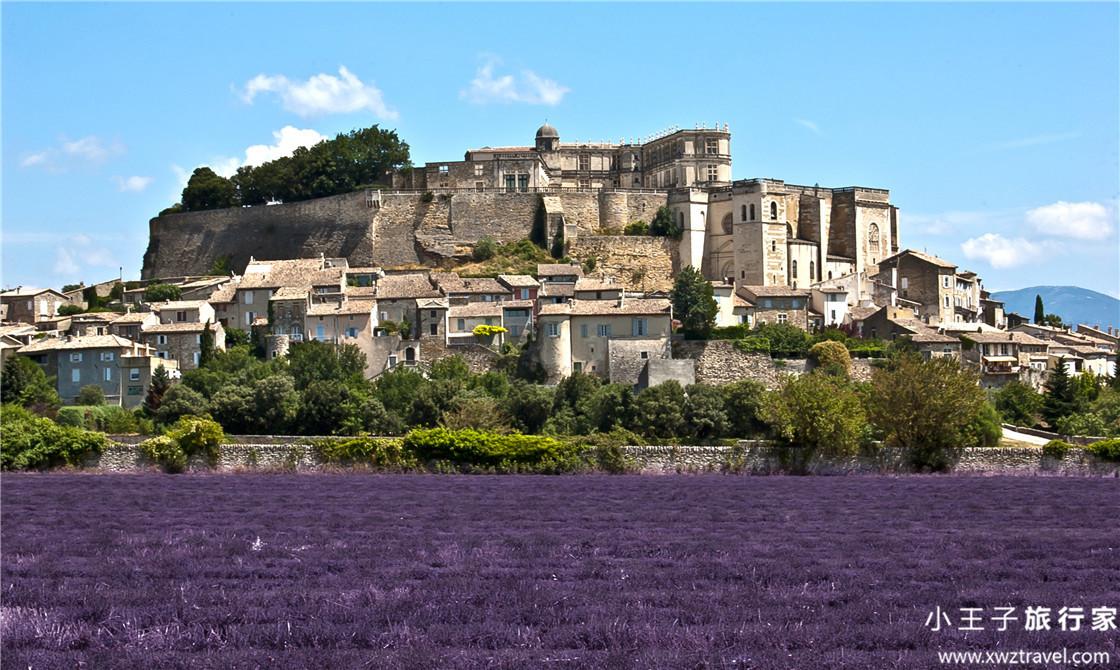 法国格里尼昂村庄